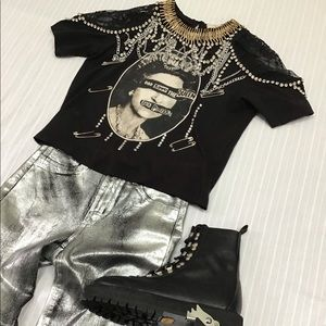 ALICE & OLIVIA COLLECTOR GOD SAVE THE QUEEN TEE